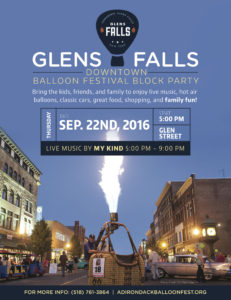 Downtown Balloon Festival Block Party @ Downtown Glens Falls | Glens Falls | New York | United States
