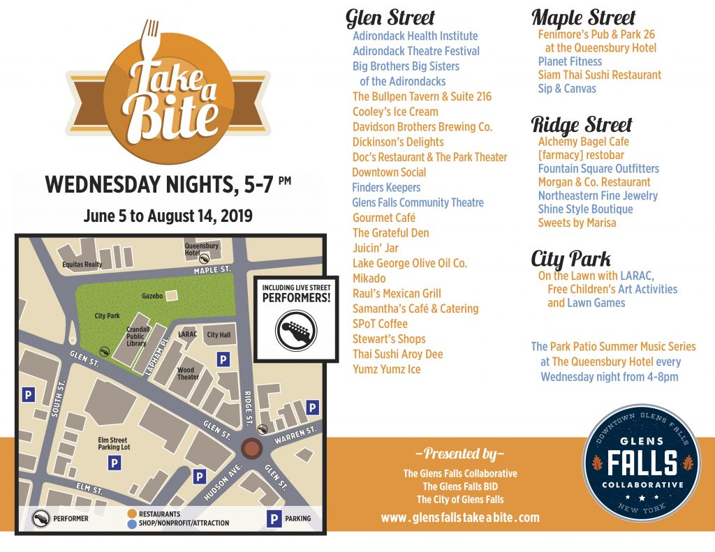 Take a Bite 2019 map